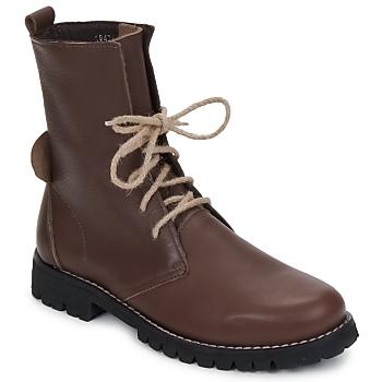Chaussures Femme Boots Swamp BIKE Marron