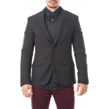 Vêtements Homme Manteaux Selected Blazer Walt  Anthracite Anthracite