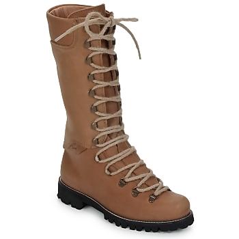 Bottines / Boots Swamp STIVALE LACCI Marron clair 350x350