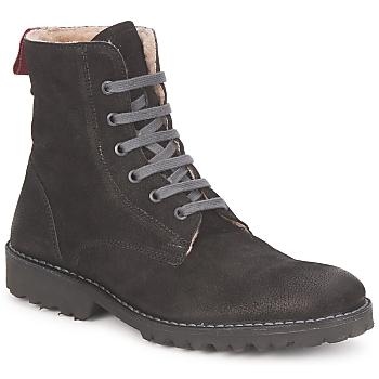 Chaussures Femme Boots Swamp STIVALETTO LANA Noir