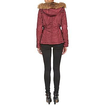 Doudounes Betty Vêtements London Bordeaux Femme Bambou v7gyY6bf