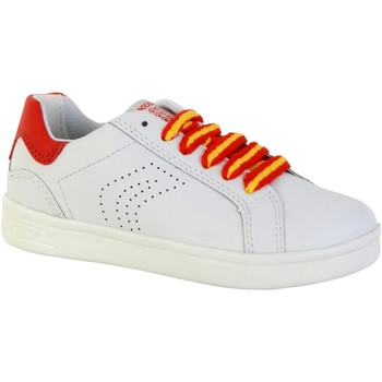 Chaussures Baskets basses Geox Basket  Djrock B Blanc