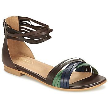 Chaussures Femme Sandales et Nu-pieds Casual Attitude FRANTO Marron