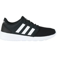 Chaussures Femme Baskets basses adidas Originals Cloudfoam QT Racer Noir-Blanc