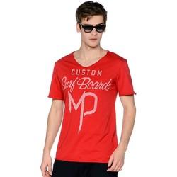 Vêtements Homme T-shirts manches courtes Meltin'pot ACHILLE Rouge