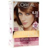Beauté Femme Accessoires cheveux L'oréal - coloration Excellence Age Perfect crème nuancée 6.35 Brun cho Marron