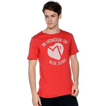 Vêtements Homme T-shirts manches courtes Meltin'pot ALEK Rouge