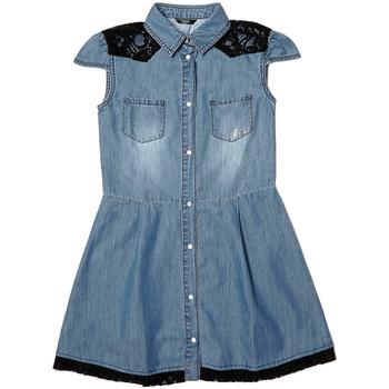 Vêtements Fille Robes Guess Robe Fille Dress Bleu (sp) Bleu