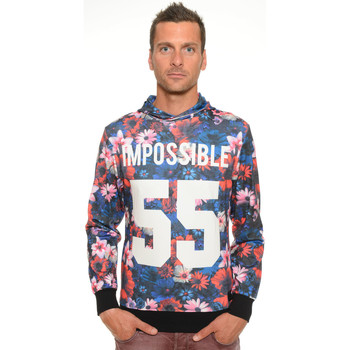 Sweat-shirt Celebry Tees Sweat Homme à Capuche Impossible 003