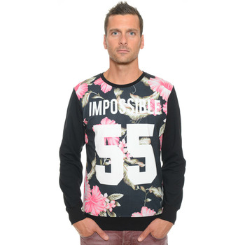 Sweats Celebry Tees Sweat Homme Col Rond Impossible 009