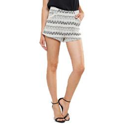 Vêtements Femme Shorts / Bermudas Grace & Mila JACQUARD Ecru