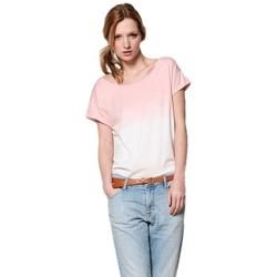 Vêtements Femme T-shirts manches courtes Des Petits Hauts HINA Rose