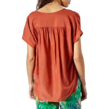 Vêtements Femme Tops / Blouses Des Petits Hauts SIROCCO Brique