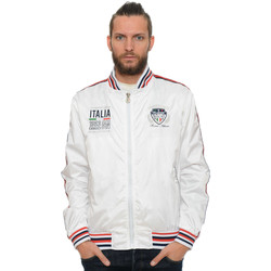 Vêtements Homme Blousons Geographical Norway Blouson Adriano Blanc