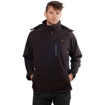 Vêtements Homme Polaires Geographical Norway Softshell Tony Hood Marron