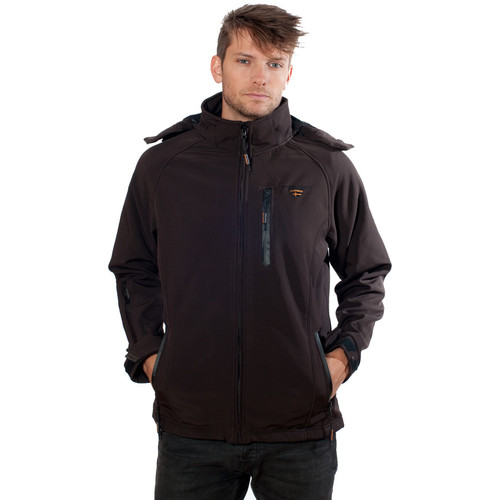 Vêtements Homme Polaires Geographical Norway Softshell Tony Hood Choco Marron
