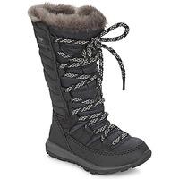 Chaussures Enfant Bottes de neige Sorel CHILDREN'S WHITNEY LACE Black