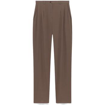 Vêtements Femme Pantalons de costume American Vintage MAGDALENA Marron