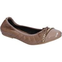 Chaussures Femme Ballerines / babies Crown ballerines beige cuir BX639 beige