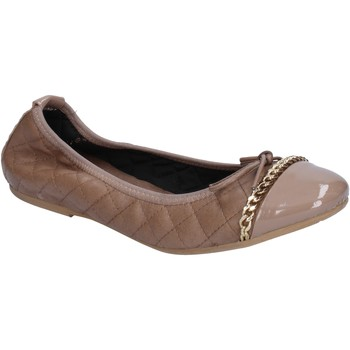 Ballerines Crown ballerines beige cuir BX639