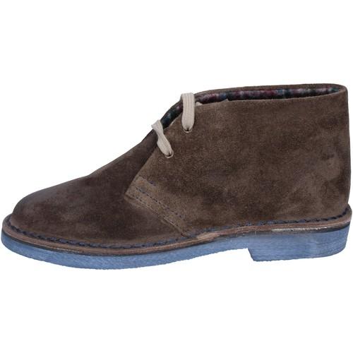 Femme Marron Bottines Low Boots By Italiane Chaussures Coraf Daim Bx656 8vm0nwyNOP