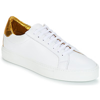 Chaussures Femme Baskets basses KLOM KEEP Blanc / Or