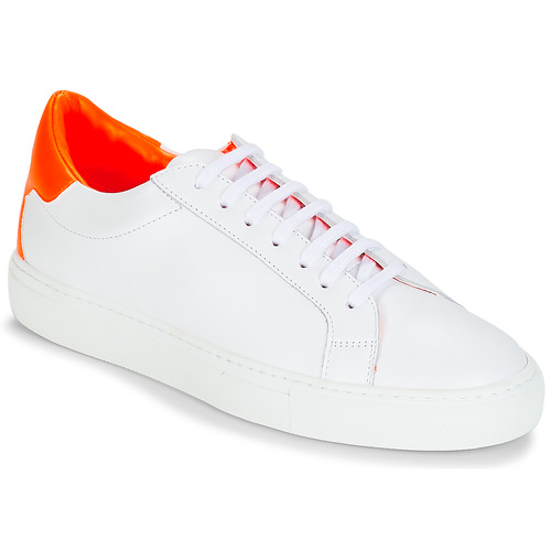 Chaussures Femme Baskets basses KLOM KEEP Blanc / Orange