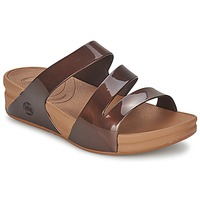 Chaussures Femme Mules FitFlop SUPERJELLY™ TWIST Marron