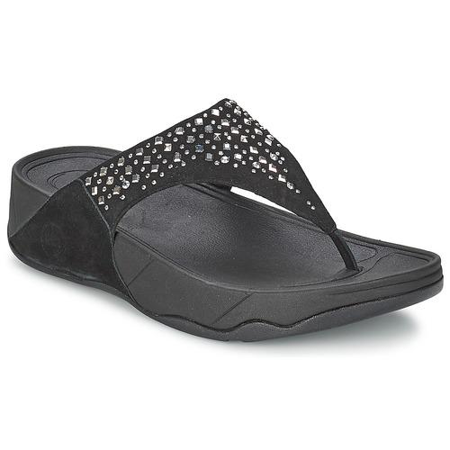 Chaussures Femme Tongs FitFlop NOVY Noir