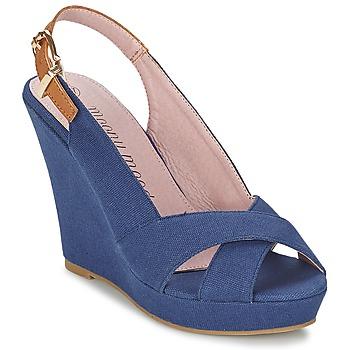Chaussures Femme Sandales et Nu-pieds Moony Mood EKOLM Marine