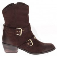 Chaussures Femme Bottines LPB Shoes Bottines Helsinky chocolat Marron