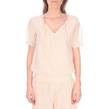 Vêtements Femme Tops / Blouses Vision De Reve Tunique Kate 7041 Rose Rose