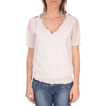 Vêtements Femme Tops / Blouses Vision De Reve Tunique Kate 7041 Blanche Blanc