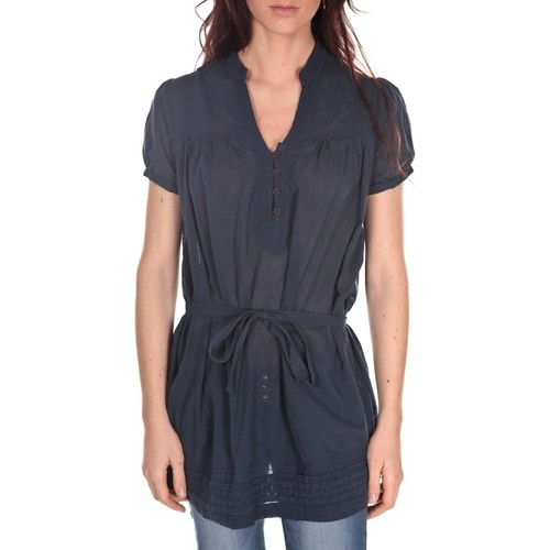 Vêtements Femme Tuniques Vision De Reve Tunique Claire 7090 Bleu-Marine Bleu