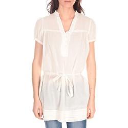 Vêtements Femme Tuniques Vision De Reve Tunique Claire 7090 Blanc Blanc
