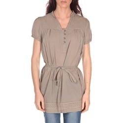 Vêtements Femme Tuniques Vision De Reve Tunique Claire 7090 Taupe Marron