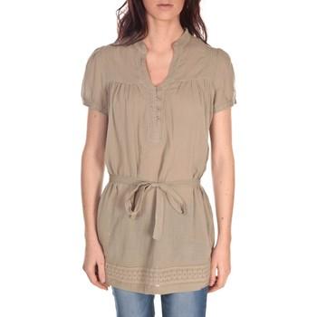 Vêtements Femme Tuniques Vision De Reve Tunique Claire 7090 Marron Marron