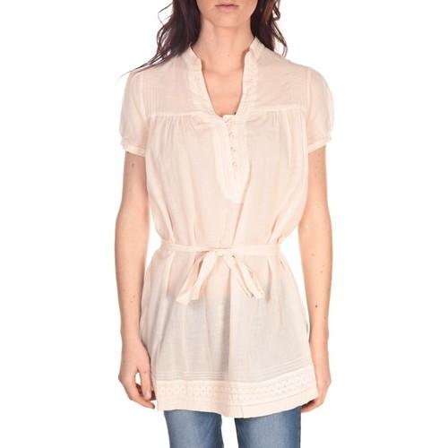 Vêtements Femme Tuniques Vision De Reve Tunique Claire 7090 Rose Rose
