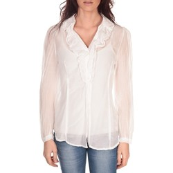 Vêtements Femme Tops / Blouses Vision De Reve Tunique Lorine 7068 Blanc Blanc