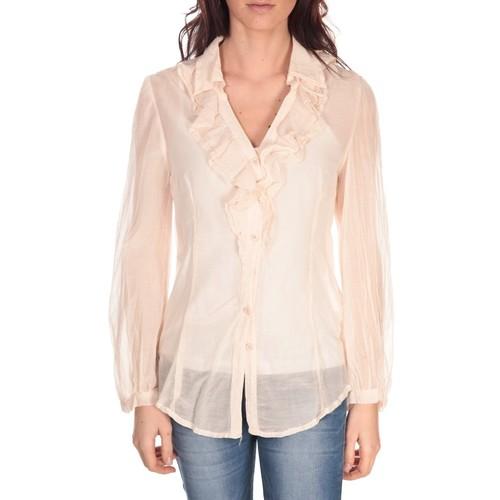 Vêtements Femme Tops / Blouses Vision De Reve Tunique Lorine 7068 Rose Rose