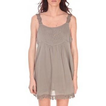 Vêtements Femme Tuniques Vision De Reve Robe Toupie 7062 Marron Marron