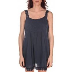 Vêtements Femme Tuniques Vision De Reve Robe Toupie 7062 Bleu-Marine Bleu