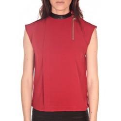 Débardeurs / T-shirts sans manche Tcqb Top Sirene Rouge