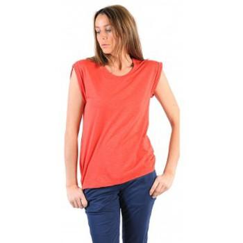 Vêtements Femme T-shirts manches courtes American Vintage TEE-SHIRT JAC60E11 VERMILLON Rouge