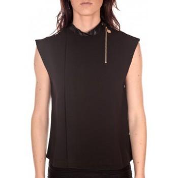 Vêtements Femme Débardeurs / T-shirts sans manche Tcqb Top Sirene Noir Noir