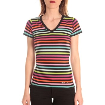 Vêtements Femme T-shirts manches courtes Little Marcel t-shirt alexina MC 229 Multicolor