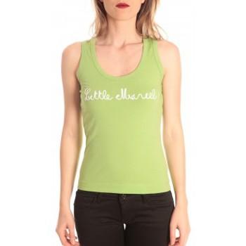 Vêtements Femme Débardeurs / T-shirts sans manche Little Marcel débardeur detroit corde greenery Vert