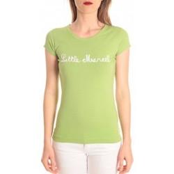 Vêtements Femme T-shirts manches courtes Little Marcel t-shirt tokyo corde vert Vert