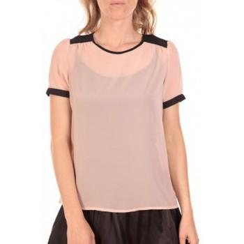 Vêtements Femme Tops / Blouses Vero Moda Top Norma Rose Poudre Rose
