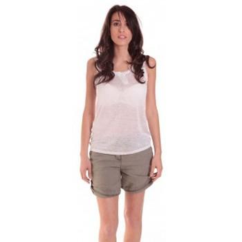 Vêtements Femme Débardeurs / T-shirts sans manche Sud Express DEBARDEUR DOTESSE BLANC Blanc